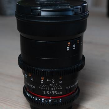 Rent Rokinon Cine DS 35mm EF mount