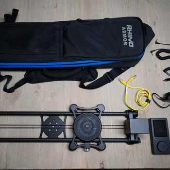 Rent Rhino Ultimate Slider Bundle/Timelapse Rig 2' and 4' rails