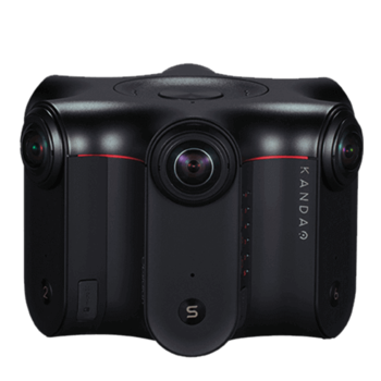 Rent Obsidian S - A 360° camera with the largest sensor and the best lowlight.