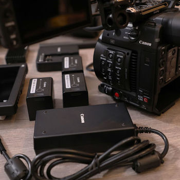 Rent Canon EOS C200 — 2+ Hours RAW w/ TWO L-SERIES LENSES!