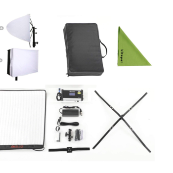 """Rent LED Light Mat  - Bi-Color - 100w - 18""""x24"""" - Foldable - with stand"""