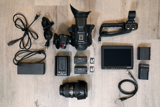 Canon eos c100 mark ii %e2%80%94 full kit w 24 105mm f4l is ii 2