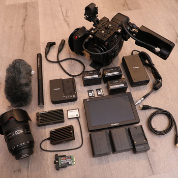 Rent Canon EOS C200 — 2+ Hours RAW w/ 24-105mm f/4L IS II USM