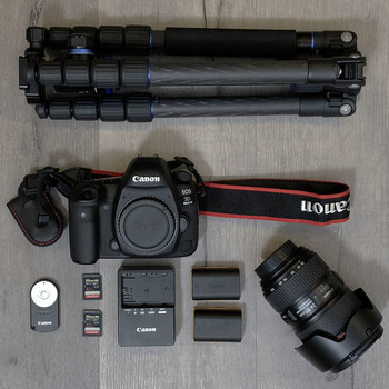 Rent Canon EOS 5D Mark IV — CANON LOG KIT w/ 24-105mm f/4L IS II