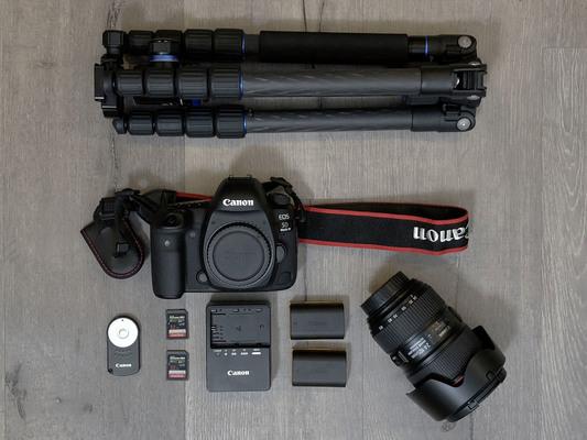 Canon eos 5d mark iv %e2%80%94 canon log kit w 24 105mm f4l is ii