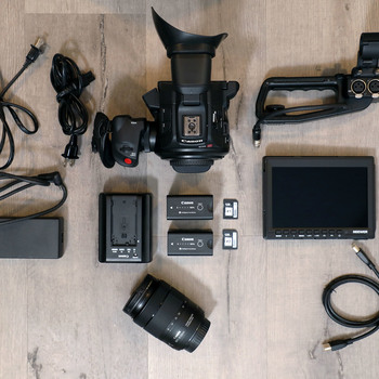 Rent Canon EOS C100 Mark II — RUN & GUN KIT w/ NanoUSM Lens.