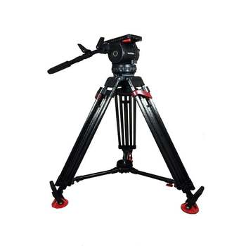 Rent Sachtler 18P Tripod Fluid Head, 2-Stage Carbon Fiber Legs