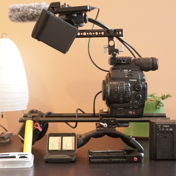 Rent Canon C300 Base Package
