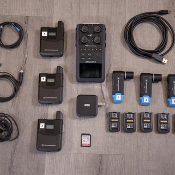 Rent 3x Sennheiser AVX Kit — Zoom H6, Extra Batteries, MKE2, etc!