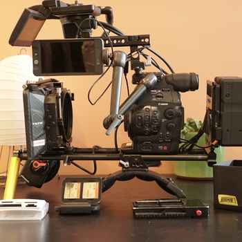 Rent Canon C300 Fully Loaded package