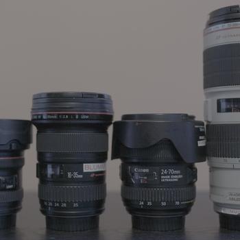 Rent Canon L Series zoom lenses Kit for EF mount