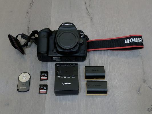 Canon eos 5d mark iv %e2%80%94 canon log  2x batteries  and more!