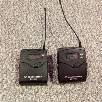 Rent Sennheiser EW100 G3 Wireless Lavalier Lapel Mic Kit (A Frequency)