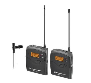 Sennheiser g3 wireless lavalier mic kit %282%29