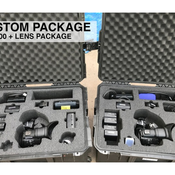 Rent 2x Canon C300 Mark i + Lens Custom Package
