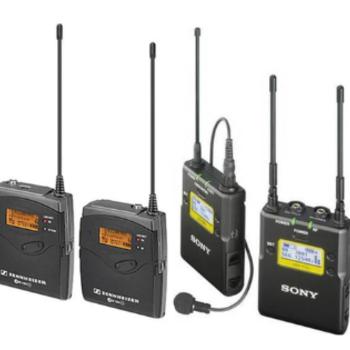 Rent Sennheiser ew 100 ENG G3 + Sony UWPD11/42 Wireless Mic Kit