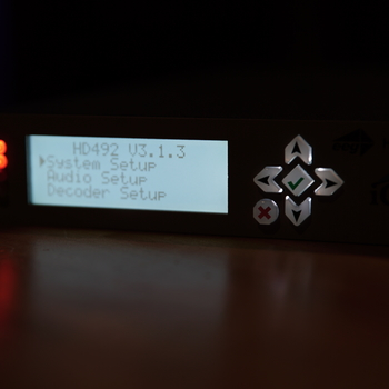 Rent iCap Captioner - HD492 1RU Encoder