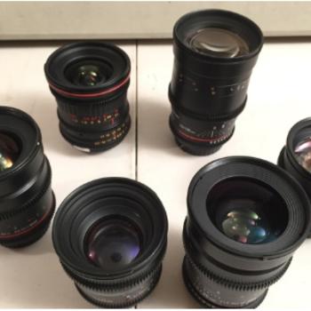 Rent Rokinon Cine (5) Lens Set - 24,35,50,85,135