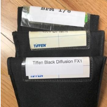 Rent TIFFEN Black Pro Mist 1/8 & 1/4 Black Diffusion FX1 4x4
