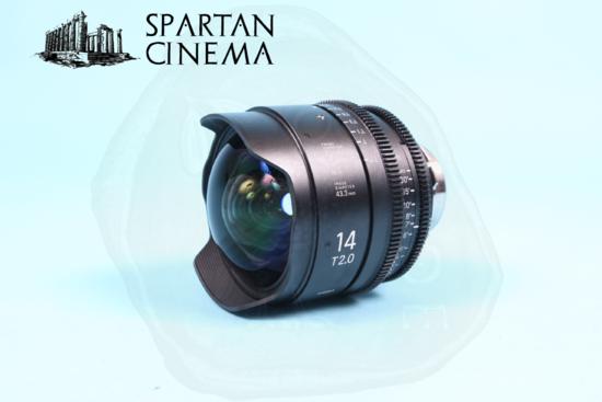 Sigma prime lens set   2 14mm