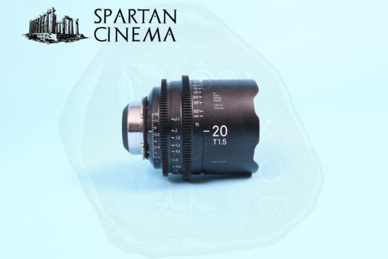 Sigma prime lens set   3 20mm