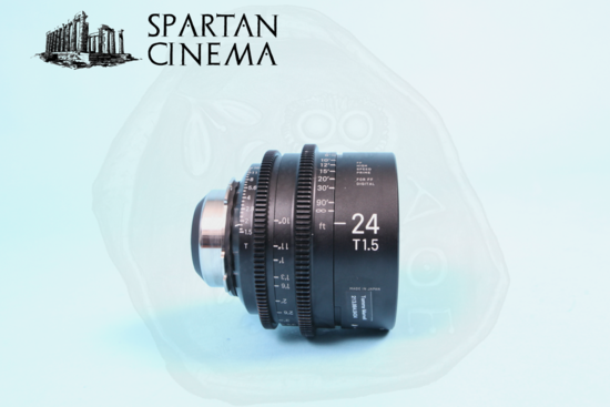 Sigma prime lens set   4 24mm