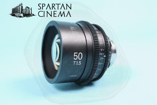 Sigma prime lens set   9 50mm