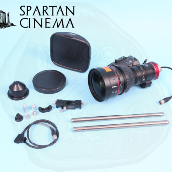 Rent Canon Cine-Servo 17-120mm PL + D-Tap Power Cable