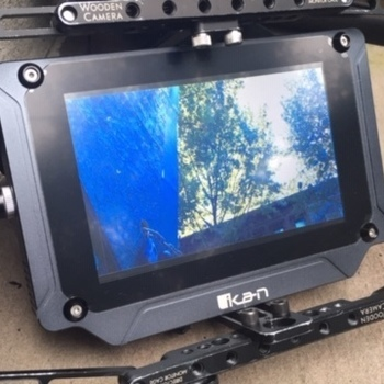 "Rent Ikan SX7. 7"" 2000 NITs. WC Cage. Vaxis 500+TX/RX. V Mount."