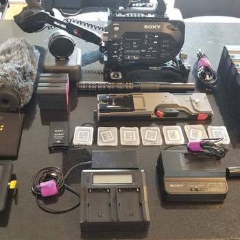 Rent Sony PXW-FS7, SHotgun, Monitor, Metabones w/ Arri Alexa LUT