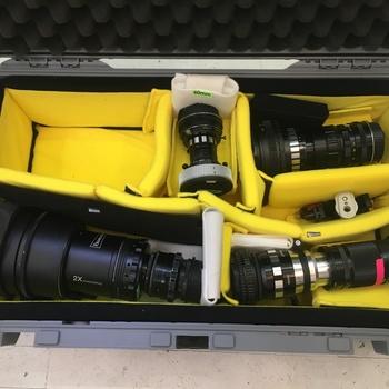 Rent Custom Anamorphic 2x lenses 40mm, 58mm, 85mm, 135mm