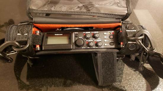 Rent A Tascam Dr 70 D 4 Channel Audio Recording Device In Mount