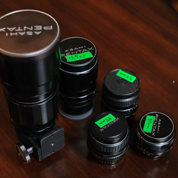 Rent Takumar SMC Lens Set for Sony E and Fuji X