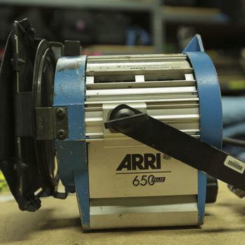 Rent Arri 650w Fresnel Light Kit