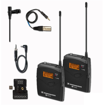 Rent Two Sennheiser EW 100 Wireless Kit (G3 & G2 Series)