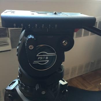Rent Sachtler FSB 8 Fluid Head Tripod w/ Miller Solo 75mm Legs