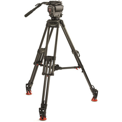 Oconnor 1030ds w 30l cf tripod mid level spreader   case