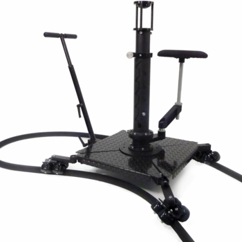 Rent Losmandy 4-leg Spider Dolly with Riser, Seat, cases
