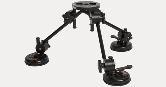 Microdolly suction mount kit