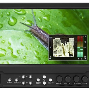 "Rent Marshall V-LCD70MD-3G 7"" Camera Top Monitor with 3GSDI Module"