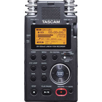 Rent Tascam DR-100mkII - Portable 2-Channel Linear PCM Recorder