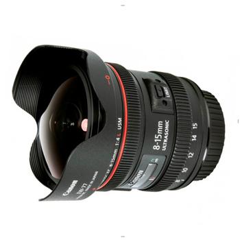 Rent Canon EF 8-15mm f/4L Fisheye USM Lens