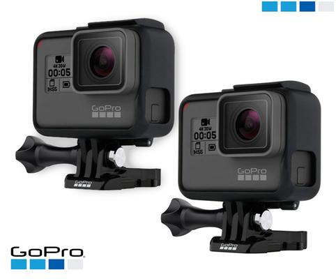2x gopro hero6 black 4k
