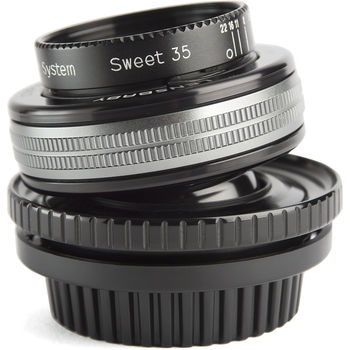 Rent Lensbaby Composer Pro II with Sweet 35 Optic for Canon EF