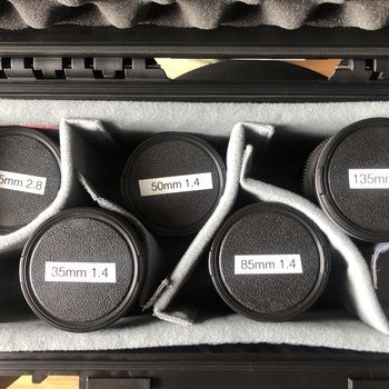 Rent Contax Zeiss Cinemod Set (25, 35, 50, 85, 135)