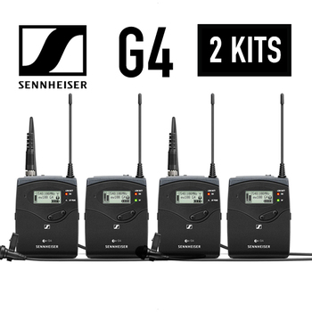 Rent 2x Sennheiser ew 112P G4 Wireless Lav Kits