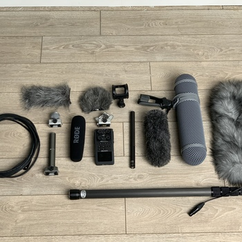 Rent Doc/Short Film/Corporate Audio Kit: Zoom H6n Rode NTG 3 Shotgun Mic Kit