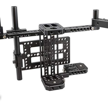 "Rent Small HD 702 OLED 7"" Monitor & Director's Monitor Cage with Wireless Receivers and Multi-function Plate Kit"