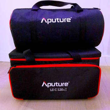 Rent Aputure 120 D II + Light Dome Mini II + 2 V Mount Batteries