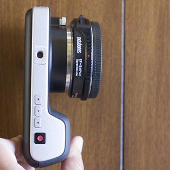 Rent Black Magic Pocket Cinema Camera with Metabones Speedbooster for EF Lenses + Lenses